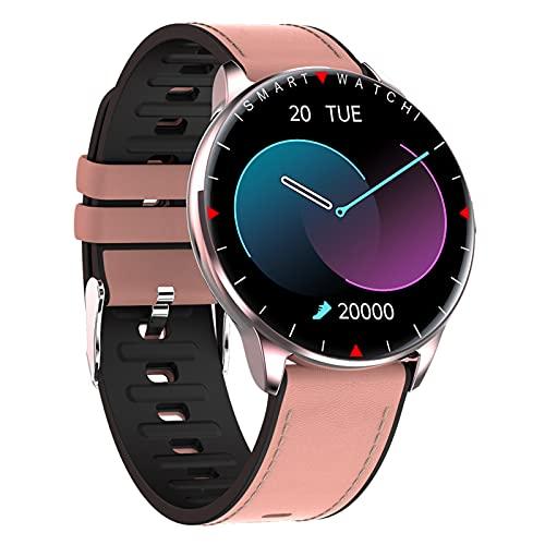 BNMY Smartwatch Relojes Inteligentes Hombre,Reloj Digital Caloría, 1.32 Pulgadas con Ritmo Cardíaco,Sueño, Control De Musica, Pulsera De Actividad Inteligente con iOS Android,A