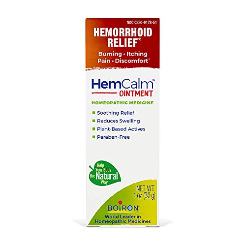 Boiron Hemcalm hemorrhoid Relief Ointment for Itchy Burning Pain,...