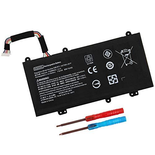 SG03XL 849048-421 Battery for HP Envy M7 M7-u009dx M7-u109dx 17t-u100 17-u163cl 17-u177cl 17-u110nr 17-u100 Series 849049-421 849314-850 HSTNN-LB7F HSTNN-LB7E TPN-I126 41.5WH - 12 Months Warranty
