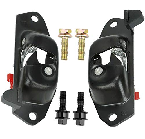 Tailgate Latch Lever Left & Right,Rear Gate Lock Latch Fit for 1999-2007 Chevy Silverado GMC Sierra Cadillac Escalade EXT Avalanche Replace # 15921948 15921949