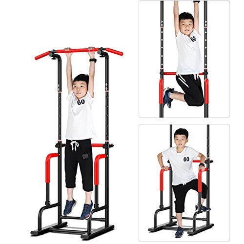 Best Deals! XXLHH Power Tower Pull Up Bar, Adjustable Height Pull Up & Dip Station Multi-Function Ho...