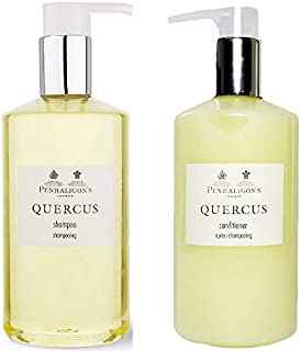 Penhaligons of London Quercus Shampoo & Conditioner Set of 2 Bottles - 10.1 Fluid Ounces/300 ML Each