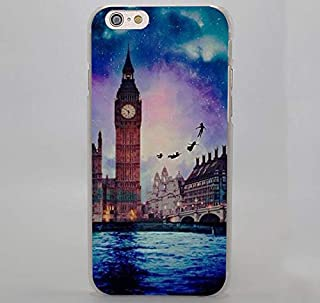 FidgetGear Big Ben Eiffel Tower of Pisa Europe Design Hard Case for iPhone 5S SE 6 Plus 7 + Style 3 for iPhone 6s
