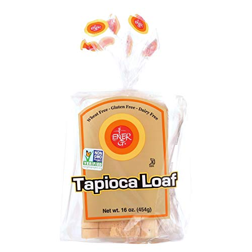 Ener-G Foods Loaf - Tapioca - Thin Sliced - 16 oz - case of 6 - - Gluten Free - Dairy Free - - Wheat Free-