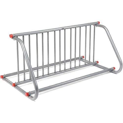 Global Industrial 59-3/4'L Grid Bike Rack, Double Sided, Powder Coated Steel, 10-Bike Capacity
