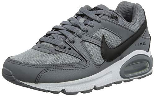 Nike Air MAX Command, Zapatillas de Running Hombre, Gris (Cool Grey/Black/White 012), 45 EU