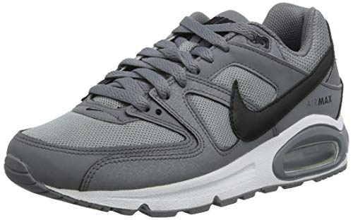 Nike Herren AIR MAX Command Laufschuhe, Grau (Cool Grey/Black/White 012), 42 1/2 EU