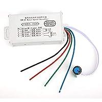 広い電圧に対して安定したブラシコントローラー(30A)
