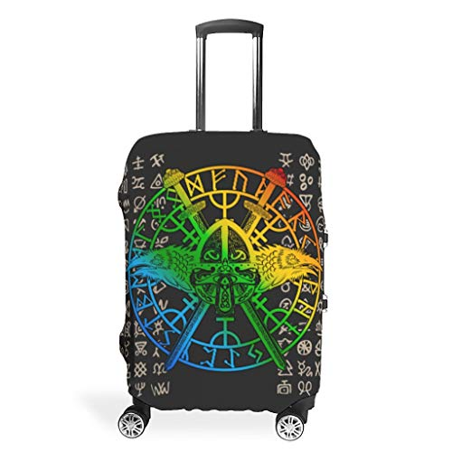 Bekende Viking Tattoo Travel Bagage Protector - Wasbaar Multi Size fit Veel koffer