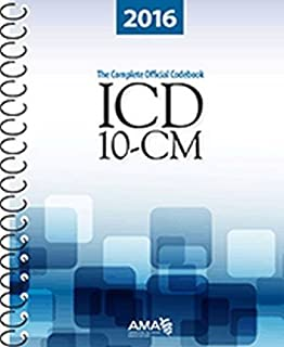 ICD-10-CM 2016: The Complete Official Draft Code Set (ICD-10-CM the Complete Official Codebook)