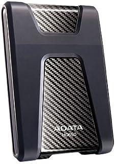 Adata Technology 148921 A-Data HDD Ahd650-1tu3-cbk External 1tb 2.5inch Ahd650 Black Retail