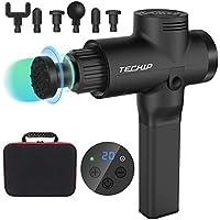 Techip Handheld Deep Tissue Muscle Massager, Cordless Percussion Massaging Gun