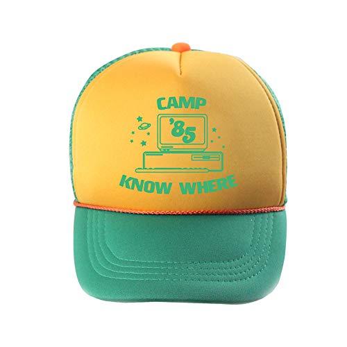 JUZIPI Stranger 3 Sombreros Dustin Things Cosplay Gorra de b