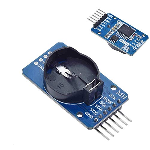 iHaospace 3 Pcs DS3231 AT24C32 IIC High Precision RTC Module Clock Timer Memory Board Beats DS1307 for Arduino