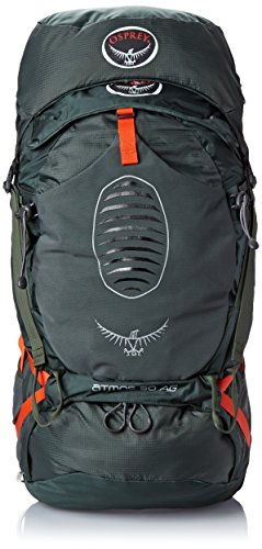 Price comparison product image Osprey Men's Atmos AG 50 Backpack (2017 Model),  Graphite Grey,  Large