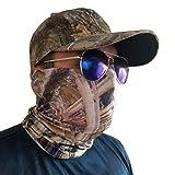 Volk Outdoors, Hunting face Masks, Tubular Bandana, Camo Hunting Headband, UV Blocking SPF 50+, Breathable, Camouflage face mask.(SH3)