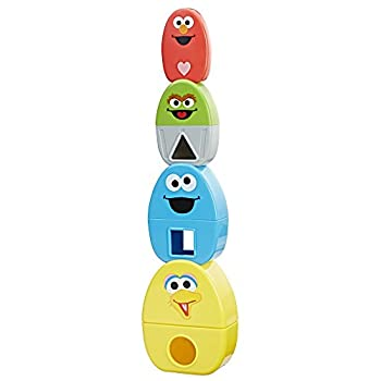 Playskool Friends Sesame Street Elmo's Stack & Nest Friends
