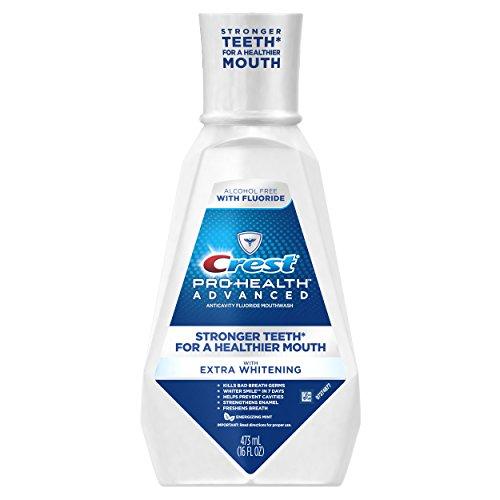 Crest Pro-Health Advanced Mouthwash with Extra Whitening, Energizing...