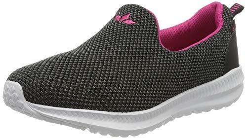 Lico Merit Sneaker Damen, Grau/ Schwarz/ Pink, 40 EU