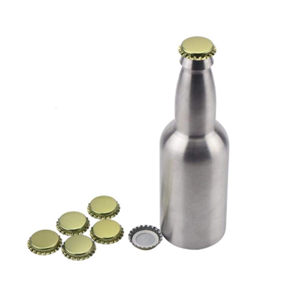 12oz 330ml 304 Stainless Steel Standard L Beer Bottle Gorgeous Time sale with 10pcs