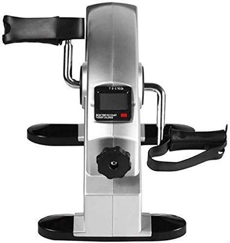 DGHJK Macchina ellittica Cross Trainer Desk Pedal Ginnico Mini Pedal Ginnico Resistenza Regolabile Mini Cyclette Pedale Ginnico per Esercizi di Riabilitazione di Gambe e Braccia