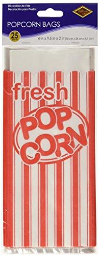 Beistle 57822 25-Pack Popcorn Bags
