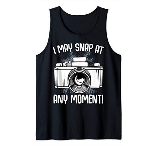 Puedo tomar en cualquier momento fotos de la cámara Camiseta sin Mangas