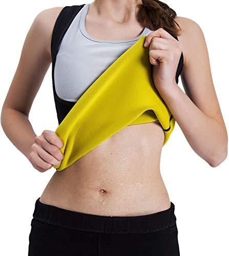 ISEYMI Figurformender Damen-Body Schwitz-Body zur Gewichtsreduzierung aus Neopren