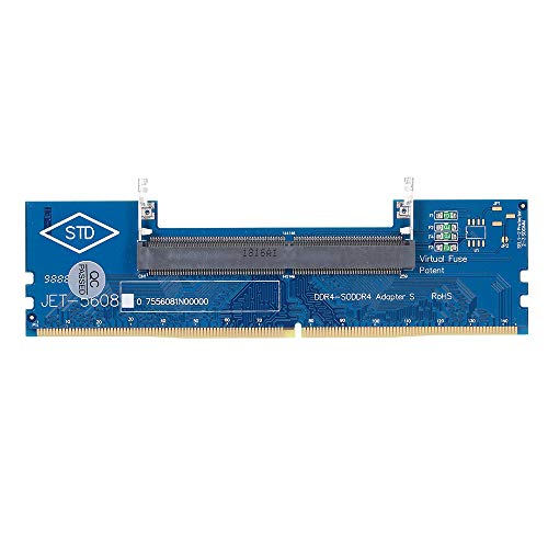 Docooler DDR4 Laptop SO-DIMM zu Desktop-Adapter Kartenkonverter Speicher RAM-Anschluss Adapter Memory Tester