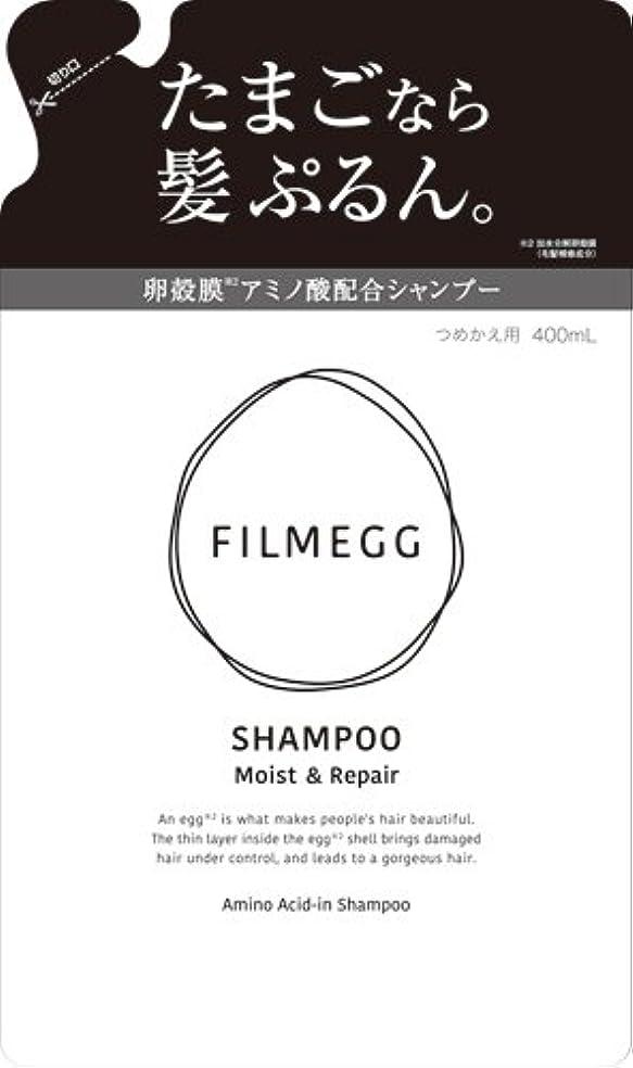 契約した曲げる才能FILMEGG(フィルメッグ) シャンプー 詰替え 400ml