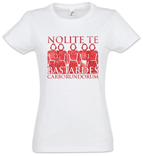 Urban Backwoods Nolite Te Bastardes Carborundorum Camiseta de Mujer Women T-Shirt