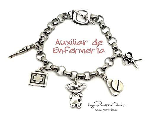 Pulsera AUXILIAR DE ENFERMERÍA II (Temática Profesiones)