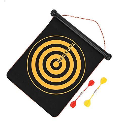 East buy - Diana de Dardos magnética - Juguetes interactivos para niños Flocado magnético Diana de Dardos de Dos Caras para Seguridad, Fitness y Entrenamiento Profesional