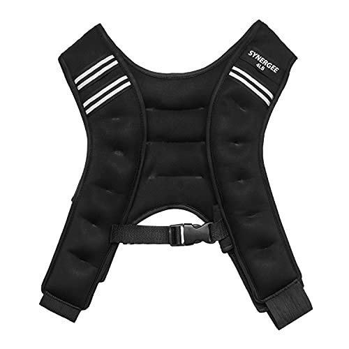 Synergee Weighted Vest Infinity Vest Workout Equipment - Body Cardio Walking or Running Vest - 4lbs