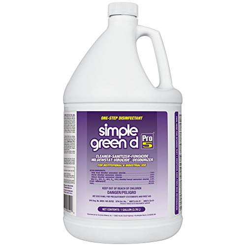 Simple Green 30501 d Pro 5 Disinfectant, 1 gal Bottle