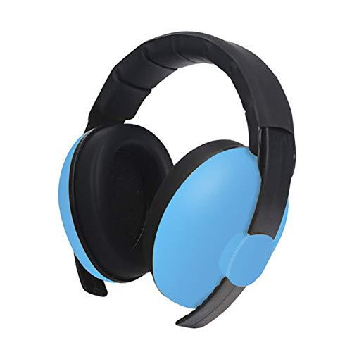 Feeilty Oorbeschermers voor kinderen, lawaai, babyoorbescherming, koptelefoon voor het annuleren, ruisonderdrukken, gehoorbescherming blauw