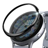 Ringke Bezel Styling Cover para Galaxy Watch Active 2 44mm (2019) Accesorio Adhesivo para Caja de Anillo de Bisel - Glossy Black (GW-A2-44-03)