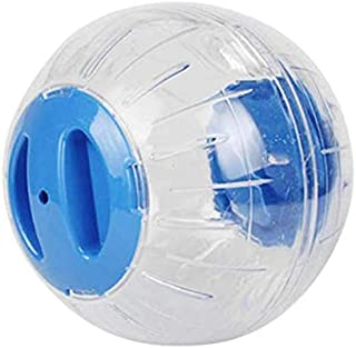 SKEIDO Running Ball For Home Pet Transparent Running Ball Plastic Grounder Jogging Pet Small Chinchilla Hamster Toy