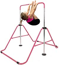 STSL Gymnastics Training Bar Kids Adjustable Kip Horizontal Jungle Monkey Home Gym