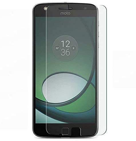 REY Pack 3X Pellicola salvaschermo per Motorola Moto Z2 Play, Pellicole salvaschermo Vetro Temperato 9H+, di qualità Premium