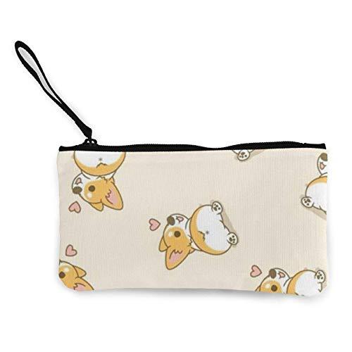 XCNGG Monederos Bolsa de Almacenamiento Shell Canvas Coin Purse for Women Make Up Bag Fashion Travel Toiletry Bag