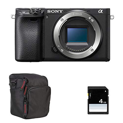 SONY Alpha 6400 Noir + NU + FT + SD
