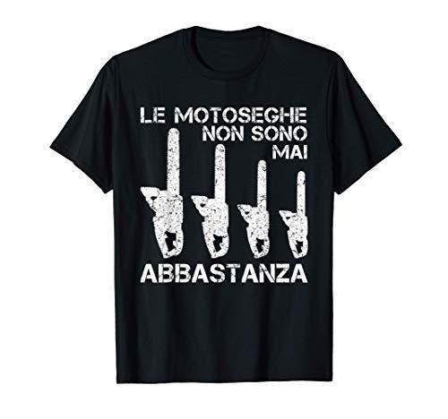 Uomo Divertente Detto Sega Catena Taglialegna Boscaiolo Motosega Maglietta