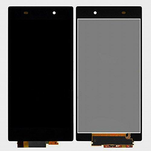 WeDone para Sony Xperia Z1 L39h C6902 C6903 C6906 C6943 LCD Pantalla Táctil Digitalizador Vidrio Completa Reemplazo y Herramientas (Negro)