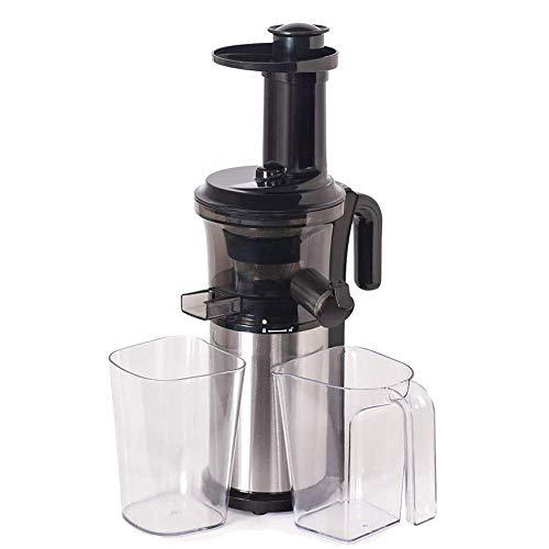 HAOSHUAI Juicer Machinesslow Juicer, Máquina Juicer de masticación 200w con función inversa y Motor silencioso Prensa Prensa