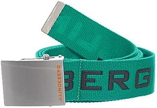 J.Lindeberg Men's Plainer Logged Webbing Golf Belt