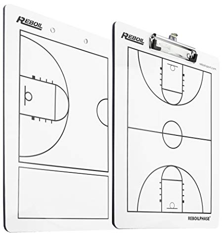 REBOILPHASE Coaches Boards   Premium Dry Erase 2 Sided tactical Clipboards...