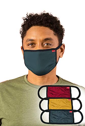 Kingsted Cloth Face Masks - Super Soft & Comfortable - 2 Layers of Lightweight T-Shirt Fabric -...