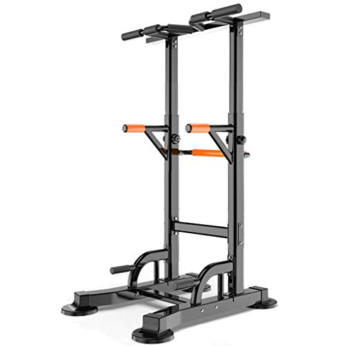 DXIN Jaulas de Fuerza Pull Up Station Dip Stand Workout Fitness Bar Power Tower Gym Equipo Multifuncional De Fitness Chin Up Bar Station para Entrenamiento De Fuerza