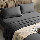 Best Bamboo Sheets - LBRO2M 100% Bamboo Bed Sheet Queen Size 4 Review